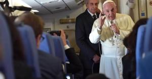 Đức Phanxicô - Phỏng vấn trên chuyến bay từ Phi Luật Tân về Vatican