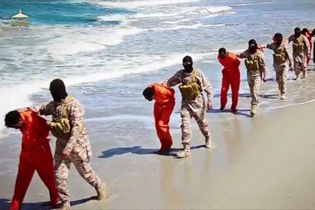 Khủng bố Hồi Giáo IS chặt đầu và bắn chết thêm 28 tín hữu Kitô Trung Đông