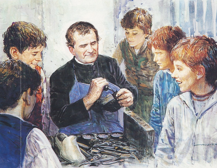DON BOSCO MENDING SHOES