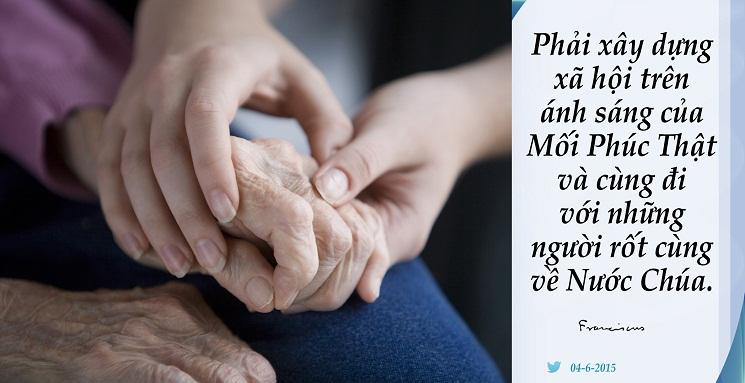 Tweet của giáo hoàng Phanxicô 04-6-15
