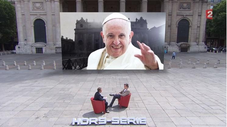 Thierry Bizot- Giáo hoàng Phanxicô