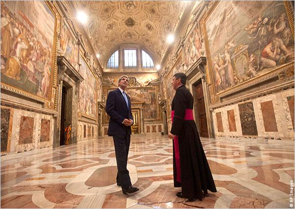 John Kerry Vatican