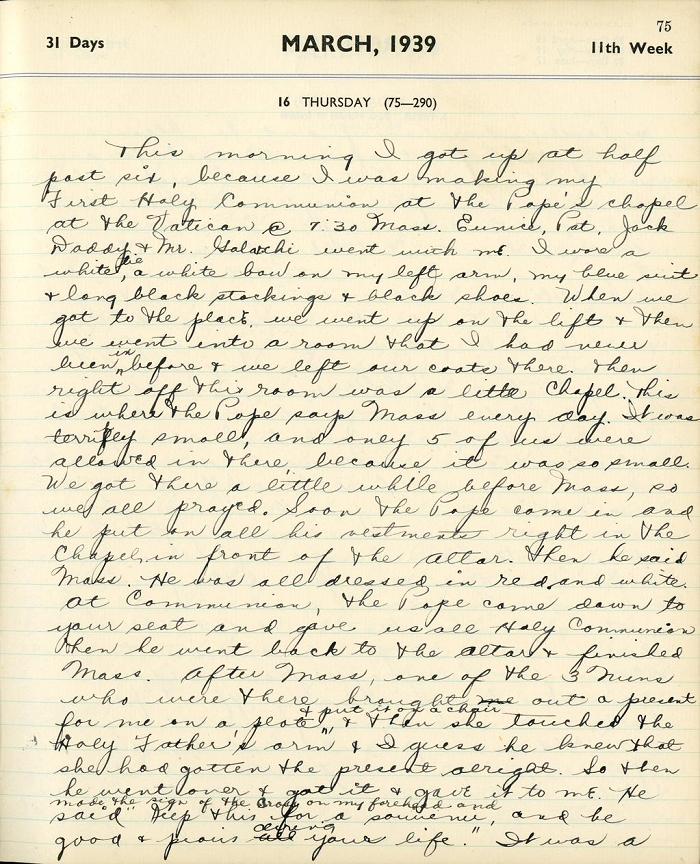 Nhật ký của Thượng nghị sĩ Edward M. Kennedy