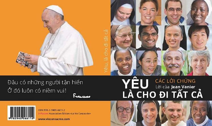 """Quyển sách """"Yêu là cho tất cả"""" ấn bản Việt Nam"""