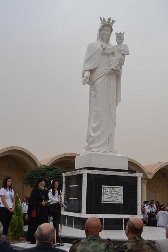 Syria - Yabroud xúc động vì nước mắt của Đức Mẹ