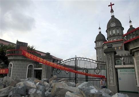 China Toppling Crosses