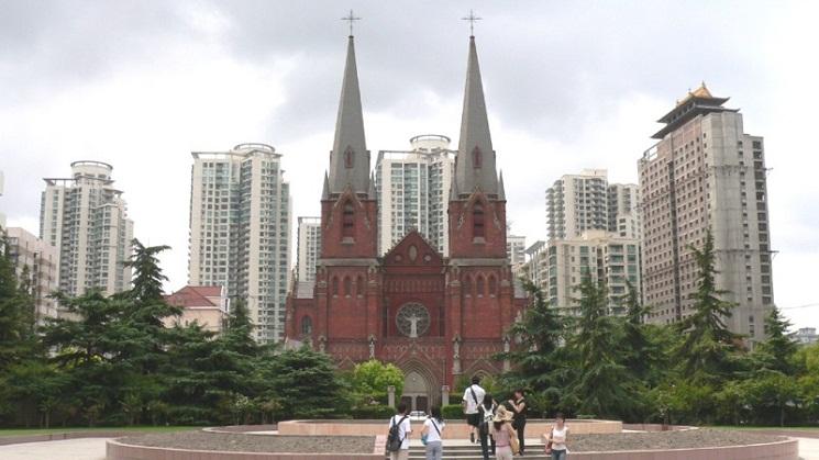 Nhà thờ Chính tòa Thánh I-Nhã ở Thượng hải