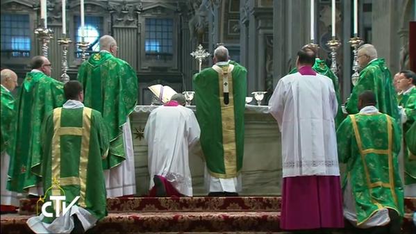 Thánh lễ khai mạc Thượng Hội đồng sáng chúa nhật 4-10-2015