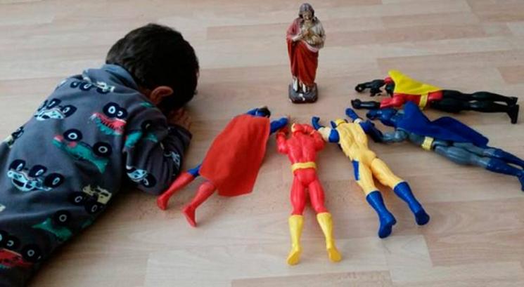 Pablo và các siêu anh hùng