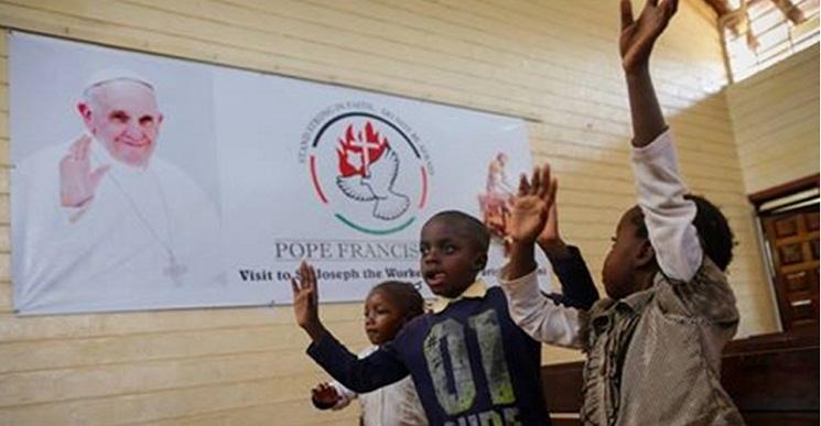 Đức Phanxicô ở Phi châu