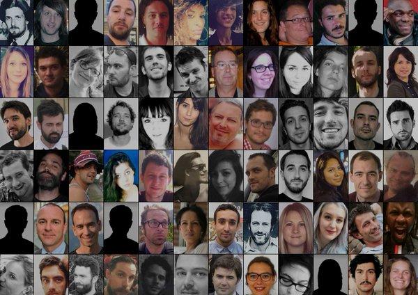 Các nạn nhân bị thiệt mạng trong vụ tấn công ở Paris ngày 13-11-2015