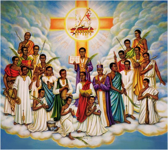 Thánh tử đạo Uganda
