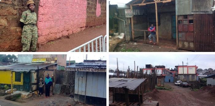 khu ổ chuột Kangemi