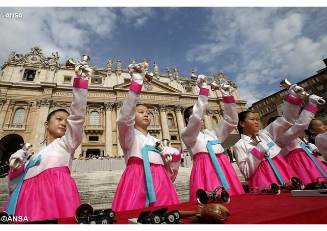 Đại hội Quốc tế lần thứ 40 các ca đoàn thiếu nhi họp ở Rôma