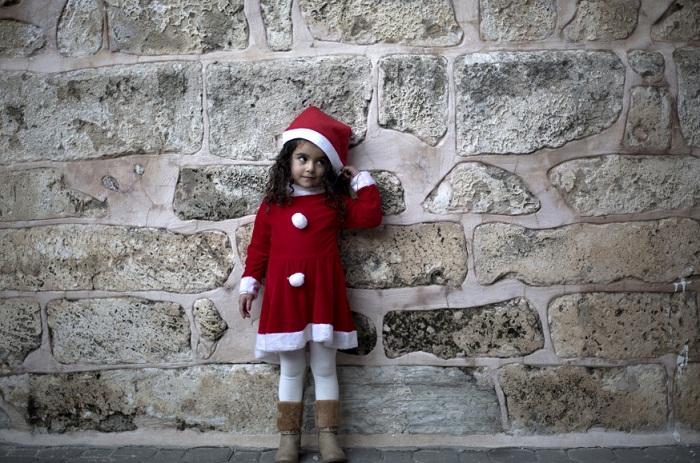 PALESTINIAN-ISRAEL-CHRISTMAS-RELIGION