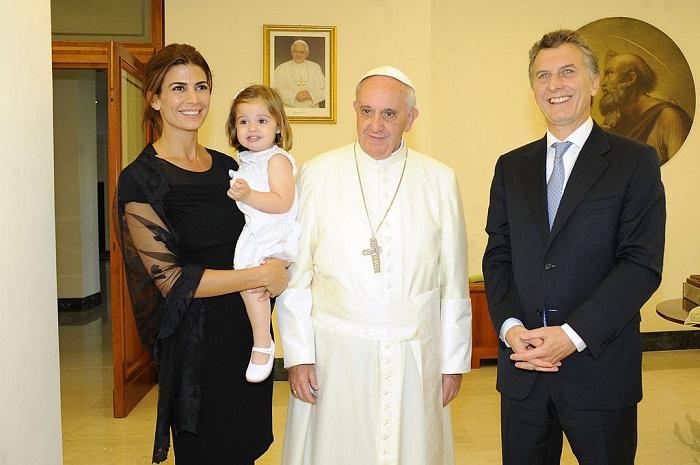 Đức Giáo hoàng sẽ tiếp Tổng thống Argentina Mauricio Macri