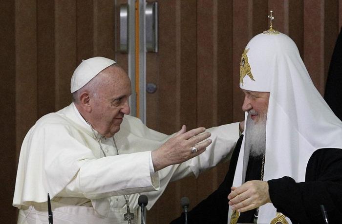 Đức Phanxicô - Thượng phụ Kirill