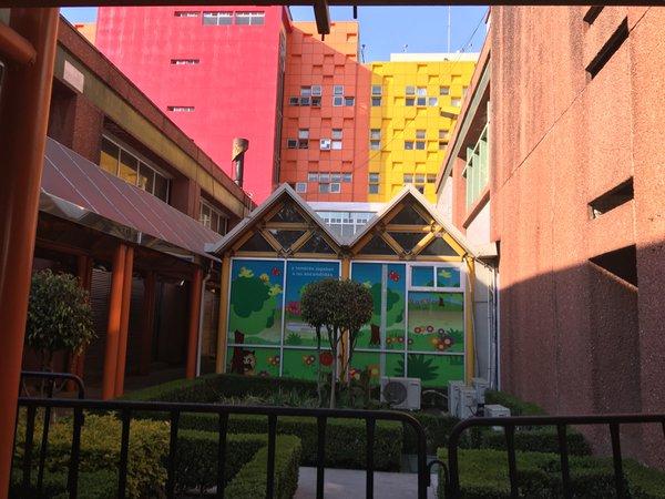 Bệnh viện Nhi đồng Federico Gómez, là bệnh viện nhưng có trẻ em thì luôn rực rỡ
