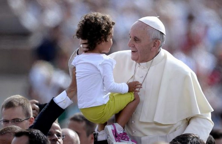 Pope Francis children audience 4