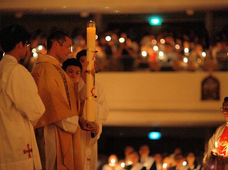 Thánh lễ Đêm Phục Sinh tại Nhà thờ Thánh Gia, Singapore
