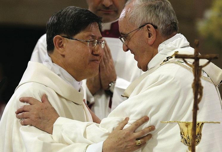 Luis Tagle - Pope Francis - Manila