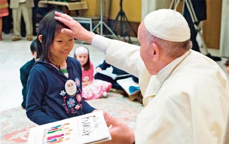 Faith meet Pope