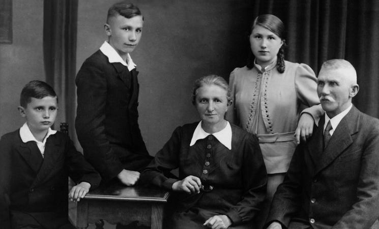 Pope Benedict XVI family