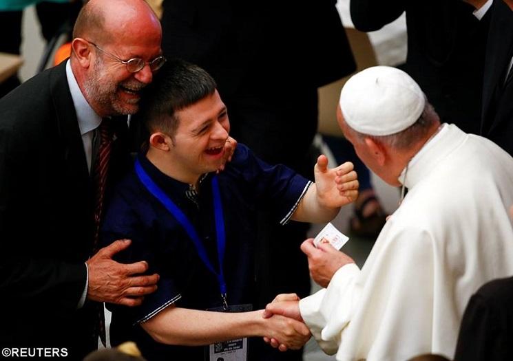 Bài giảng của Đức Phanxicô với người bệnh và người khuyết tật