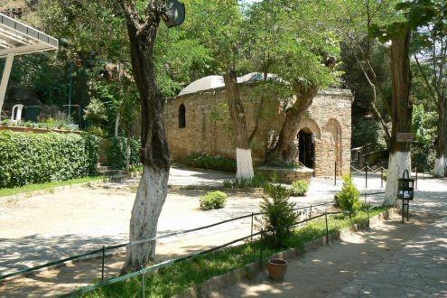 Căn nhà nơi Mẹ Maria đã sống những năm cuối đời gần thành phố cổ Êphêsô