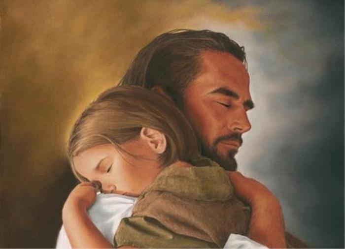 Sleep in God hand