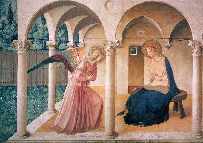 """Tìm hiểu tuyệt tác: """"Truyền Tin"""" của danh họa Fra Angelico"""