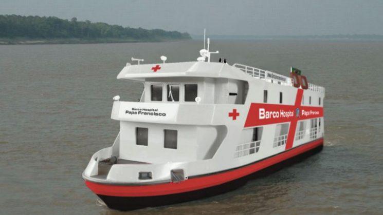 """Tàu bệnh viện """"Giáo hoàng Phanxicô"""" sẽ dọc ngang vùng Amazzonia"""